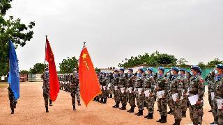 Chinese peacekeeping engineers to Sudan awarded UN Peace Medal