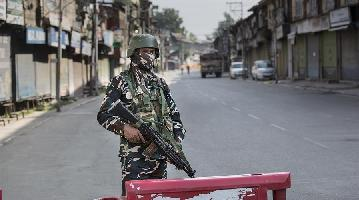 Curfew imposed in Indian-controlled Kashmir ahead of 1st anniv. of India's revocation of region's special status