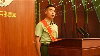 PLA soldier honored with first-class merit citation for rescuing four people in water