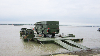 PLA's new amphibious bridging and ferrying system makes debut