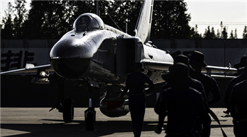 Fighter jets get ready for sorties