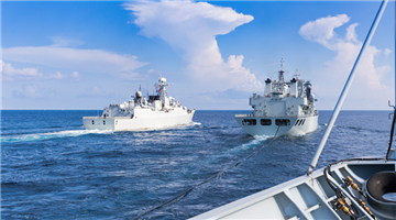 Destroyer flotilla in 4-day maritime realistic training