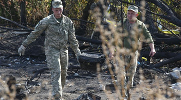 Ukrainian military plane most likely crashes