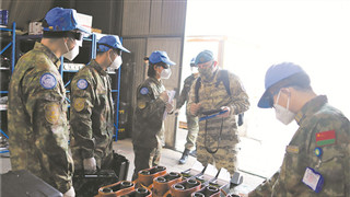 Chinese peacekeeping force to Lebanon passes first UN equipment inspection