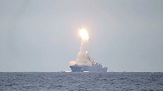 Russia test-launches Tsirkon hypersonic missile
