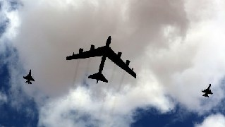 U.S. flies B-52 bombers to Middle East as show of force
