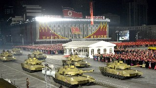 DPRK holds military parade to celebrate party congress