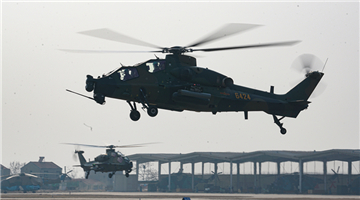 Helicopters' new-year maiden flights