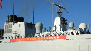 China sends new naval fleet on escort mission