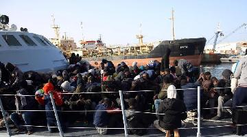 Over 200 illegal migrants rescued off Libyan coast: UN Migration Agency