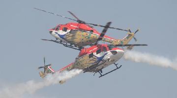 Third day of Aero India 2021 at Yelahanka air base