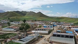 Metamophosis of a Tibetan village towards green economy