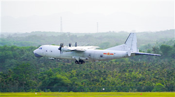 Anti-submarine patrol aircraft conduct submarine search training