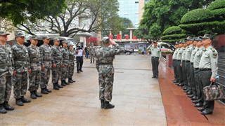 Chinese military doctors leave for Ethiopia to provide medical assistance