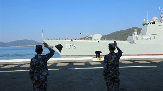 Chinese naval escort taskforces conduct mission-handover in Gulf of Aden