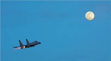 Fighter jets in 24-hour flight training