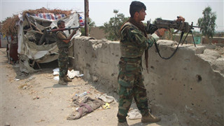 Afghan Taliban attempts to gain more districts, facing counter-offensives from gov't forces
