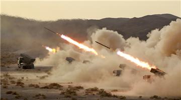 Rocket launchers in live-fire training