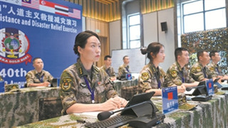 Humanitarian assistance disaster relief training of Exercise Cobra Gold 2021 held in Thailand