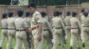 Rehearsal held ahead of 75th Independence Day parade in India