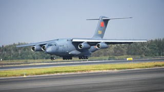 Y-20 transport plane debuts in Peace Mission exercises