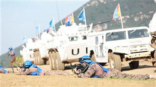Int'l peacekeeping drill concludes in central China