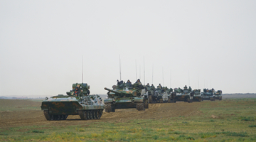 Armored elements train in force-on-force exercise