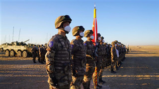 Peace Mission-2021: A stage for squad leaders of the Chinese participating troops