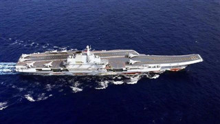 Highlights of China's first aircraft carrier Liaoning in 9 years
