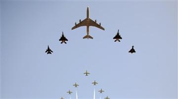 Airshow held to celebrate Saudi Arabia's National Day