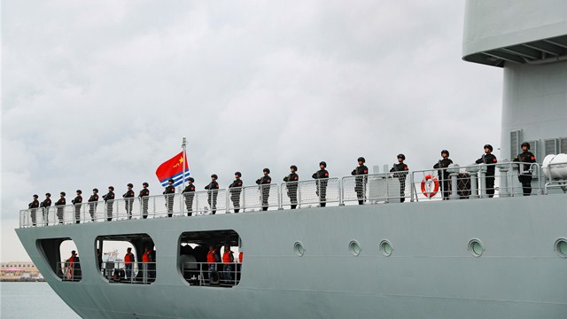 39th Chinese naval escort taskforce sets sail for missions