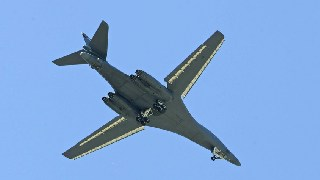 Russian fighter escorts U.S. bomber above Sea of Japan