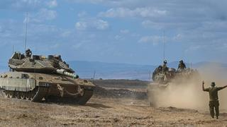 Israeli Armored Corps conducts military exercise