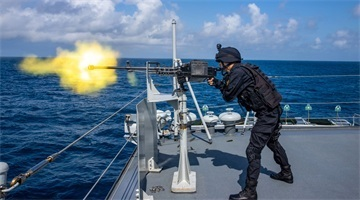 39th Chinese naval escort taskforce conducts training exercise