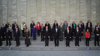 Meeting of NATO defense ministers held in Brussels, Belgium