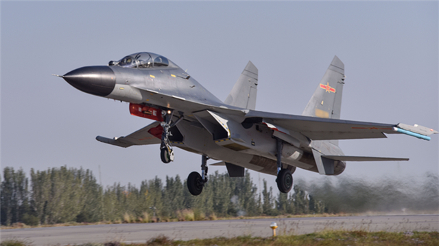 PLA Western Theater Command's fighter jets engage in flight training