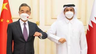 Chinese, Qatari FMs discuss bilateral ties, Afghanistan
