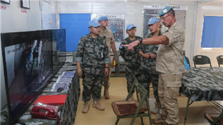 MINUSMA Force Commander visits Chinese peacekeeping camp in Gao