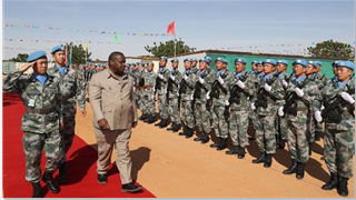 Chinese peacekeepers to Sudan awarded UN Peace Medal