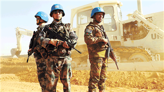 Chinese peacekeepers help complete camp restoration project in Gao
