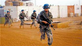 Chinese peacekeepers to Mali carry out first defense drill in 2020