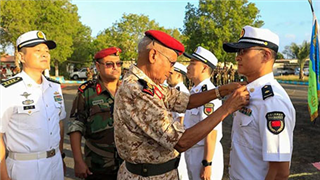 PLA medical staff in Djibouti awarded the Independence Day Medal by Djibouti President