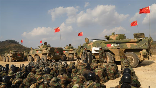 China, Cambodia launch joint military exercise on anti-terrorism, humanitarian rescue