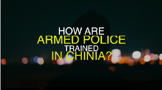 How do China's SWAT teams undergo training?