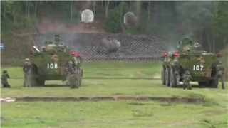 PLA Macao Garrison trains crack troops