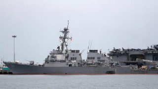 China opposes US destroyer's sailing through Taiwan Strait