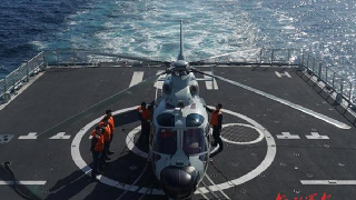 China-Russia naval exercise enters stage of joint anti-submarine drills
